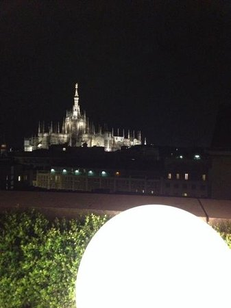Boscolo Milano, Autograph Collection : Duomo from the Rooftop Bar