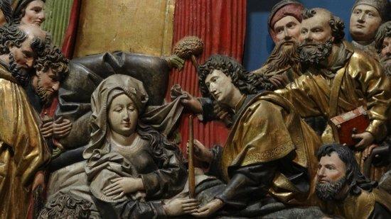 Augustinermuseum: Houtsnijwerk