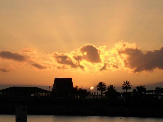 Servatur Puerto Azul : amodores beach at sunset