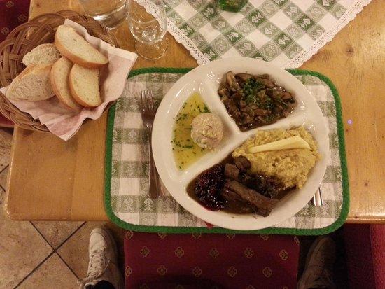 Kaisertube: piatto tipico