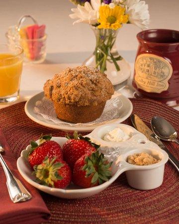 Colby Hill Inn: Breakfast at the Inn