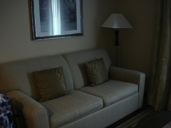 Homewood Suites Charlotte/Ayrsley: couch