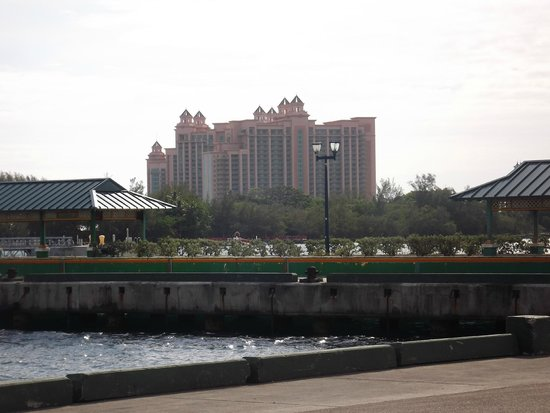 Atlantis, Beach Tower, Autograph Collection: View of Atlantis from the dock.