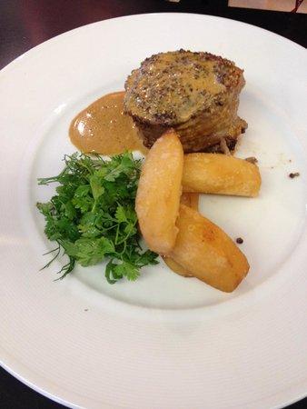 Steak, salade & potato