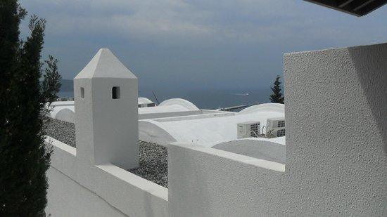 Hotel Manastir: Vista para a baia.