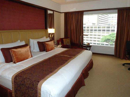 Shangri-La Hotel Kuala Lumpur: Our double room