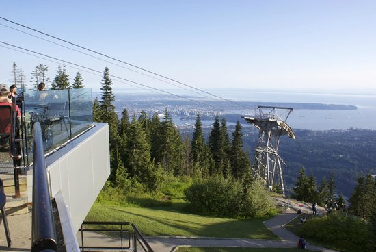 The Observatory At Grouse Mountain View Is Amazing And It Was Perfect For