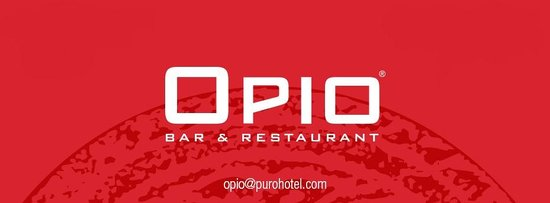 OPIO Bar & Restaurant: Cover