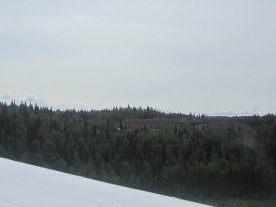 K2 Aviation: Talkeetna Alaskan Lodge from K2 Plane