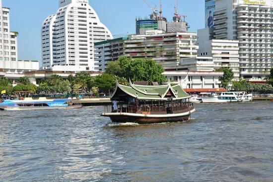 The Peninsula Bangkok: View from the terrace
