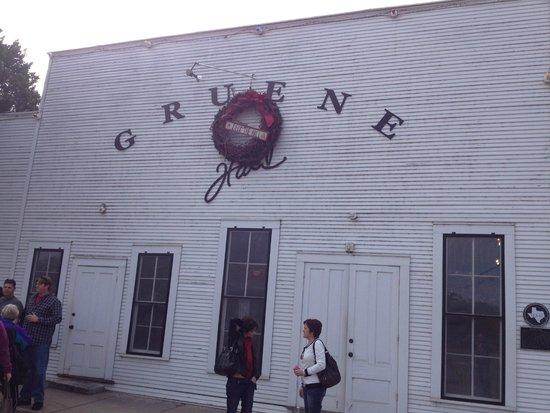 Gruene Hall at Thanksgiving