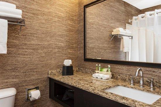 Holiday Inn Express Anchorage : Spacious Bathroom