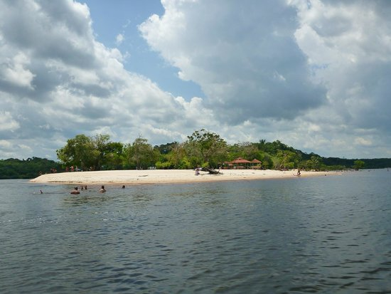 Praia do Tupe: Vista do rio