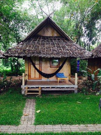Baan Pai Riverside: Our bungalow!