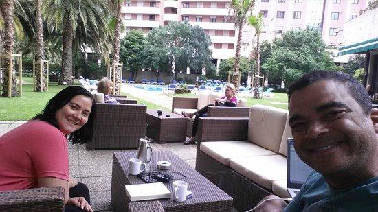 Lisbon Marriott Hotel: Piscina Marriot Lisboa