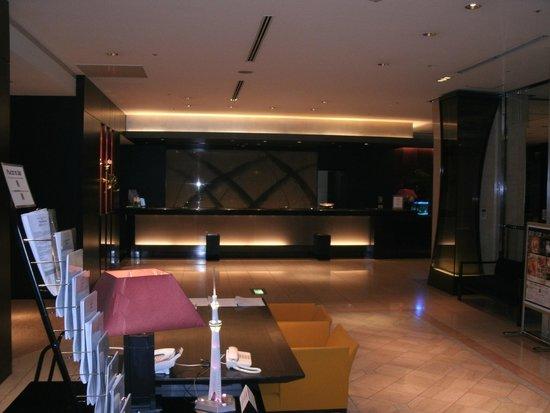 Courtyard Tokyo Ginza Hotel: Reception