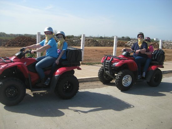 Mazatlan Tours: Thought these weren't supposed to go on the highway!