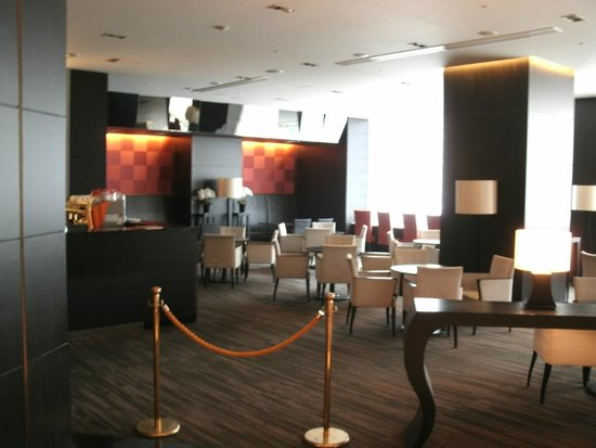 Courtyard Tokyo Ginza Hotel: Lounge Before Opening Hours