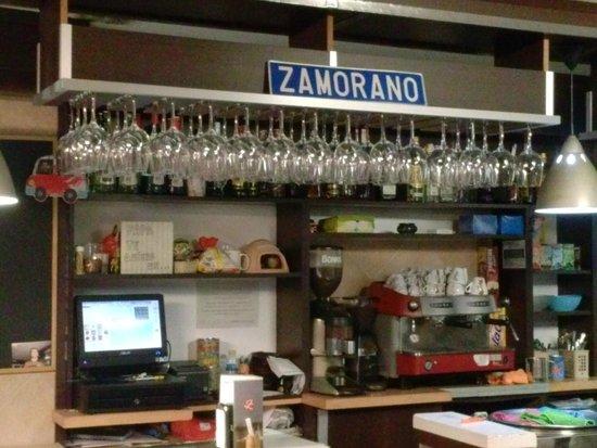 El Zamorano: El Bar