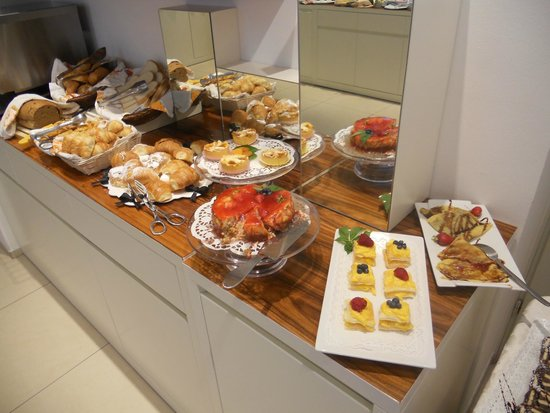 Hotel Card International: Una parte dei dolci
