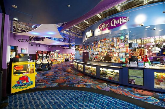 Kids Quest and Cyber Quest at Four Winds Casino