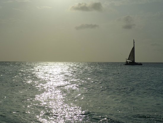 Manchebo Beach Resort & Spa: lovely sunset