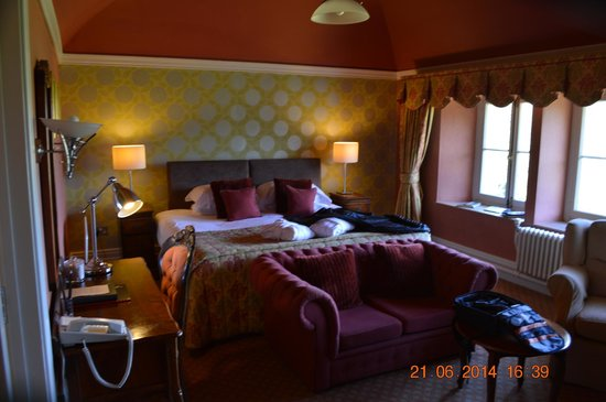 The Falcondale Hotel: Room of our bedroom