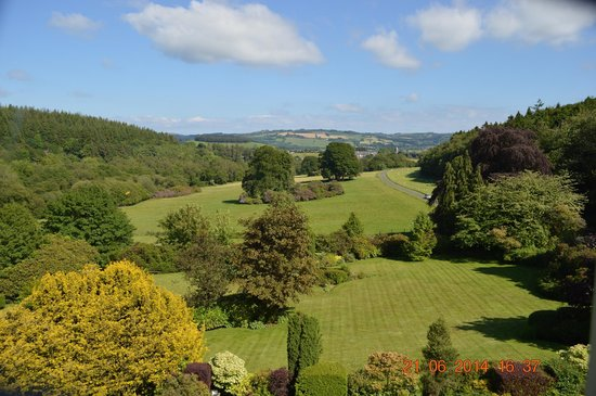 The Falcondale Hotel: Veiw from the bedroom