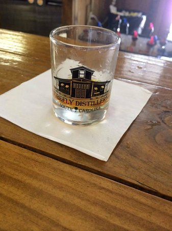 Firefly Distillery: The shot glass you get to keep