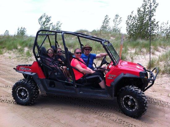 Razor J's Adventure Tours: Razor J's Sand Dunes Tour