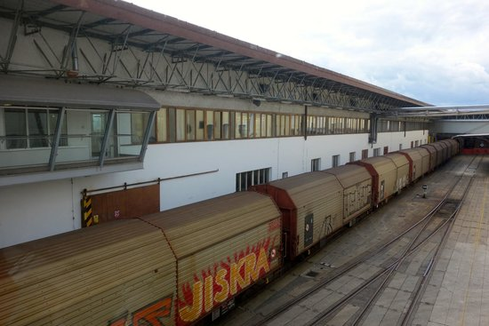 "Budweiser Brewery (Budejovicky Budvar): The brewery train: this ""Buds"" for you."