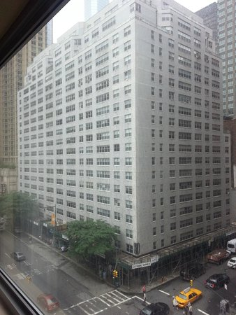 Hampton Inn Manhattan-Times Square North : vista desde la habitacion.