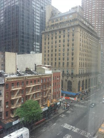 Hampton Inn Manhattan-Times Square North : vista desde la habitacion