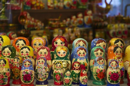 Moscow Private Tours : Russian nesting dolls