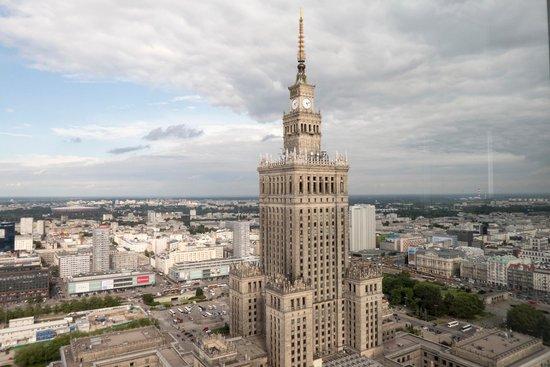 InterContinental Hotel Warsaw: Desde el cuarto