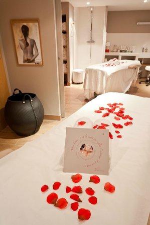 Montaigne Hotel & Spa: Massage en Duo
