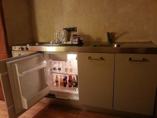 Aparthotel Mariano Cubi: Кухня