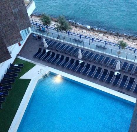 Melia Alicante: Swimming pool from 5th floor