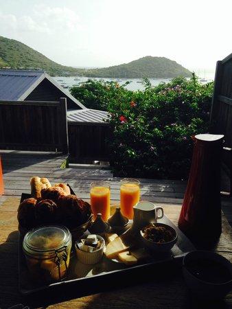 Karibuni Lodge : Breakfast