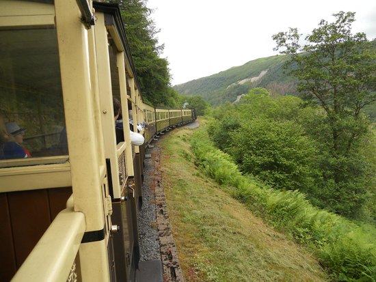 Vale of Rheidol Railway: View from the train