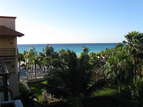 Sandos Playacar Beach Resort : view from room