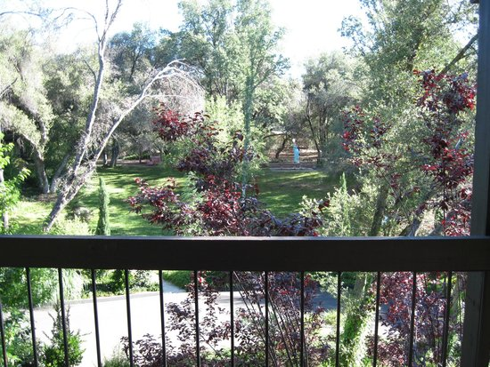Best Western Plus Yosemite Gateway Inn: View from the balcony in 300 room