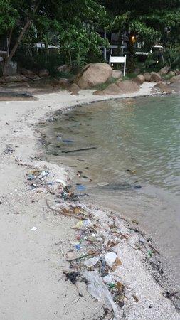 Lamai Bay View Resort: plage de l'hôtel