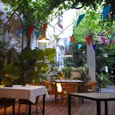 Restaurante La Boca: Patio de La Boca
