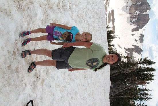 Jackson Hole Aerial Tram: Snow in June!