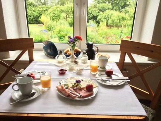 Pension Fischer: Frühstück