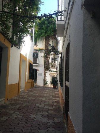 Hotel Lima Marbella: Street on old Marbella