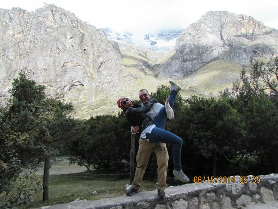 Nationalpark Huascarán: The altitude will make you a little goofy :)