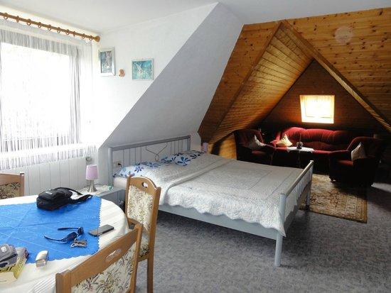 Haus-Karin: Large room upstairs