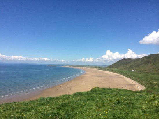 Rhossili Bay : Looking towards Llangennith